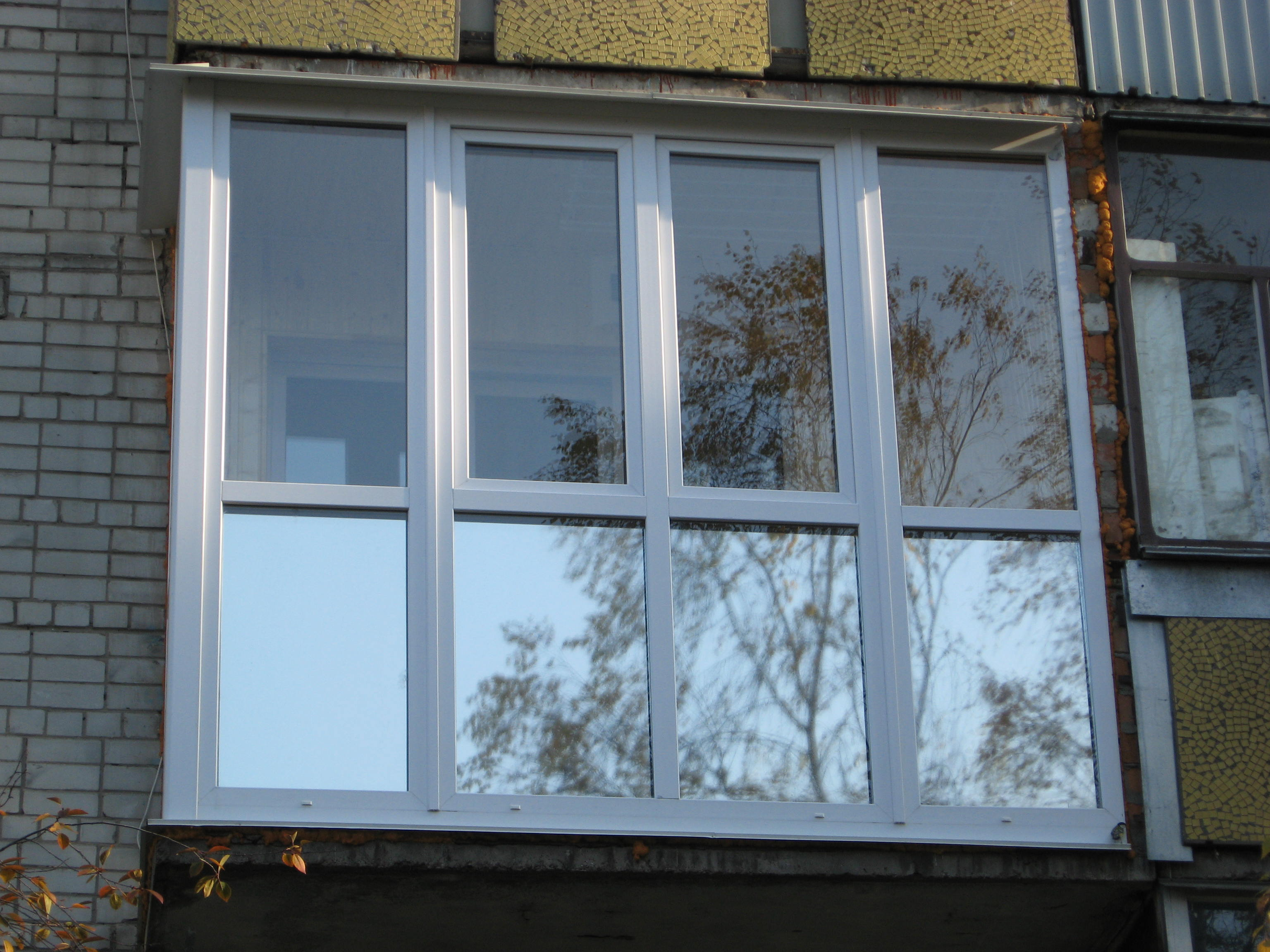 Остекление балконов с тонировкой. - ухаживаем за окнами - ка.